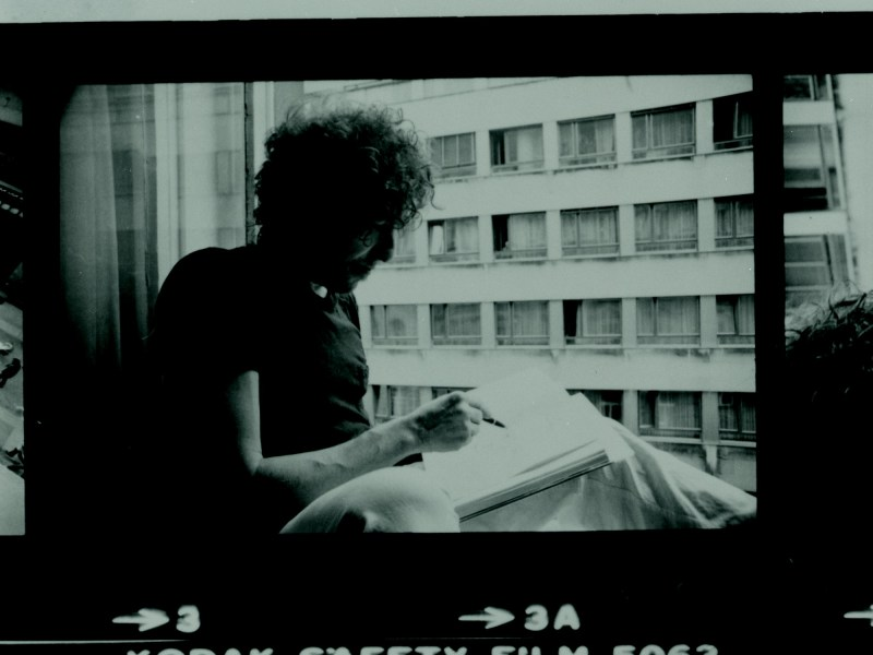 An archive photo of Bob Dylan. Photo: Courtesy Halcyon Gallery