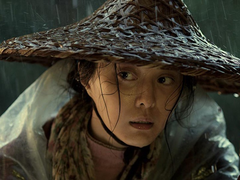 A still from Feng Xiaogang's I Am Not Madame Bovary