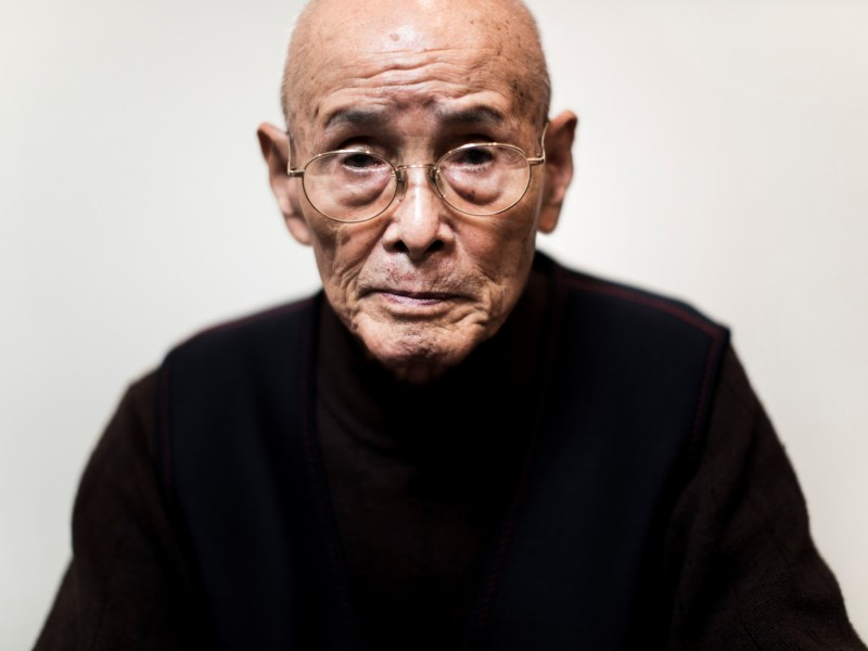 Kuniyoshi Takimoto was a navy aircraft mechanic when Japan launched its attack on Pearl Harbor. Photo: Behrouz MEHRI / AFP