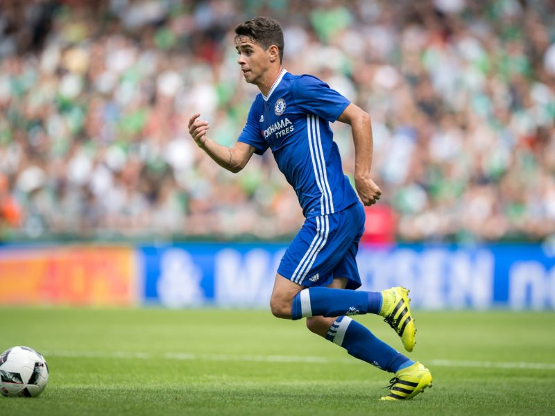 Chelsea's Oscar is on his way to Shanghai SIPG in the Chinese Super League. Photo: AFP