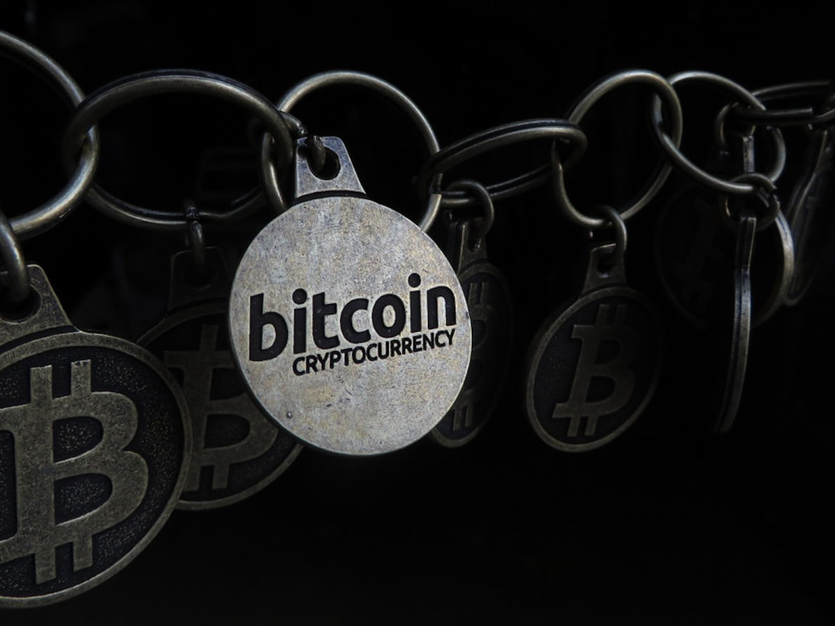 A Bitcoin keychain. Photo: Flickr