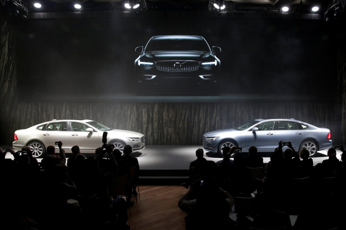 Feeling the pinch. People in China buying Volvos may have to think twice. Photo: Reuters/Aly Song