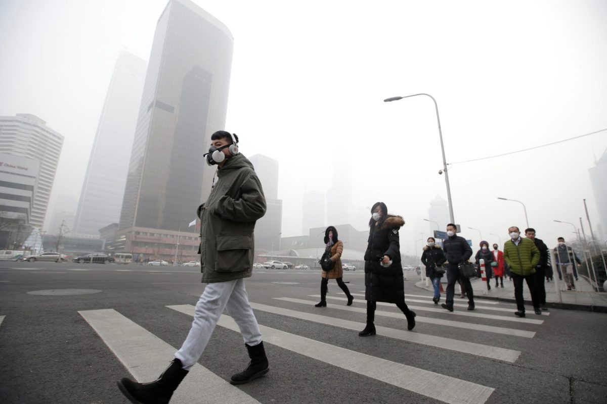 Smog relief may be on its way to Beijing? Photo: Reuters/Jason Lee