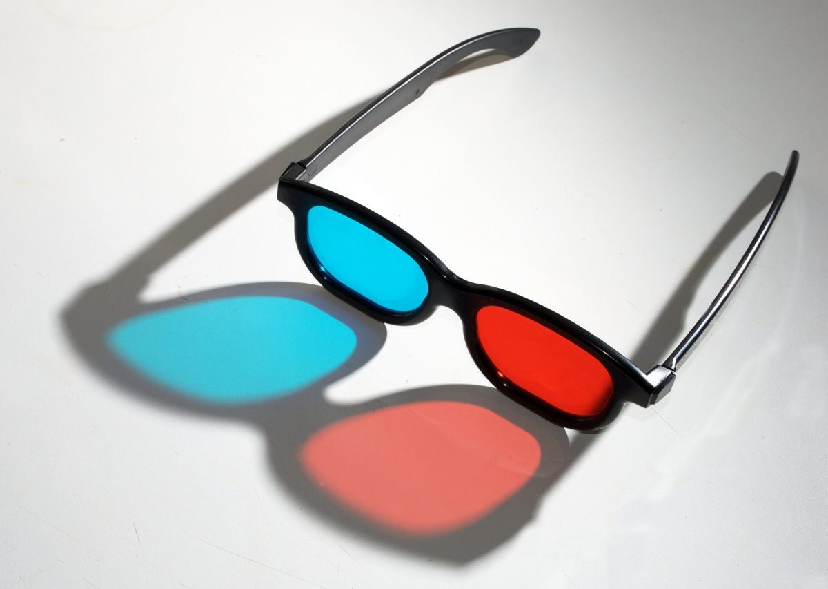 3D glasses. Photo: Matt Neale/Flickr, CC by 2.0 license https://creativecommons.org/licenses/by/2.0/legalcode