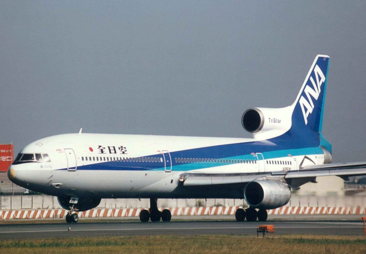 A Lockheed L-1011 TriStar by All Nippon Airways, the airplane model that is involved in the Lockheed scandal. Photo: Wikipedia Commons