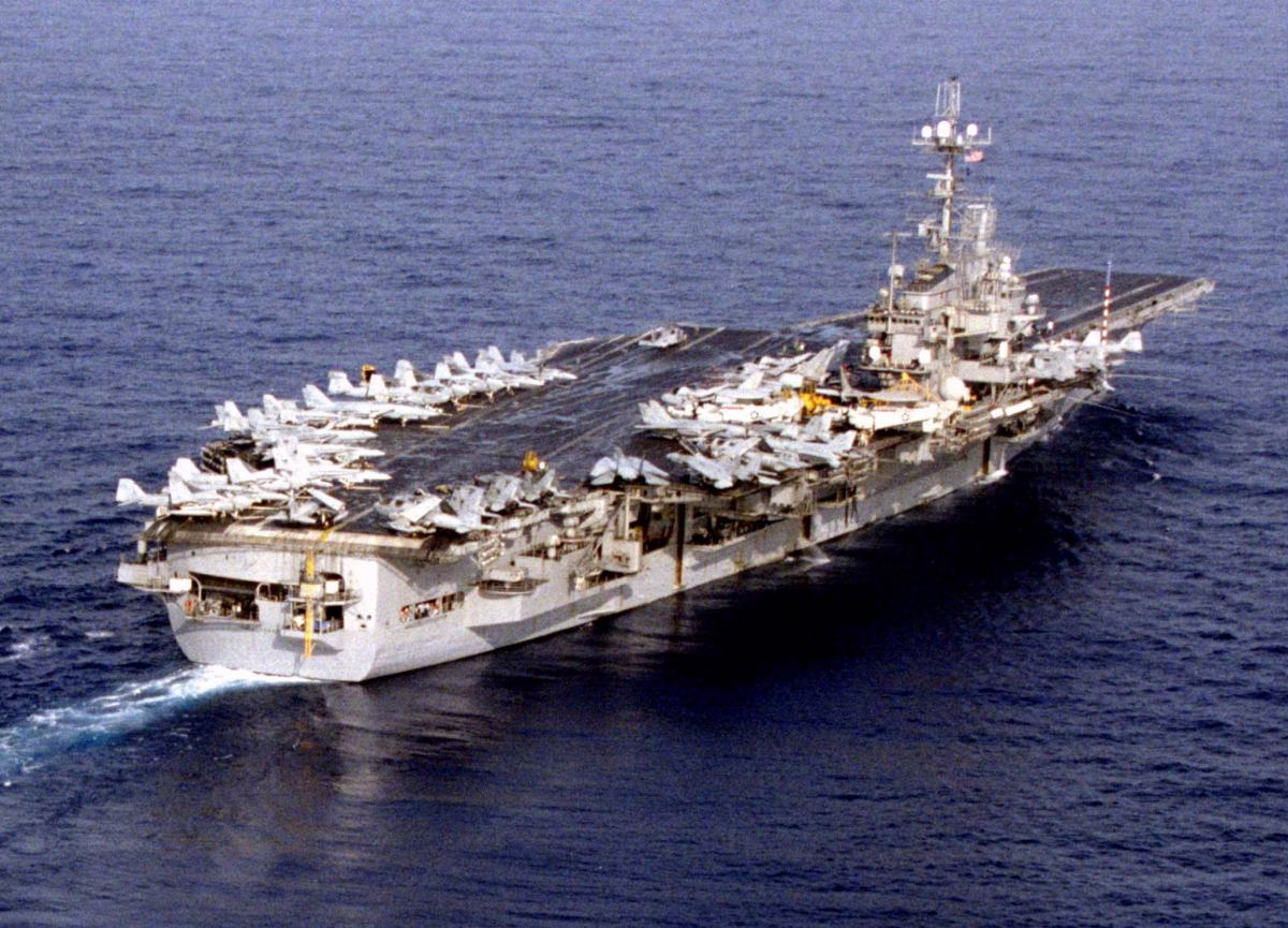 In 1996 the USS Independence was part of two carrier battlegroups sent to the South China Sea to monitor Chinese military activity in the area. Photo: Reuters