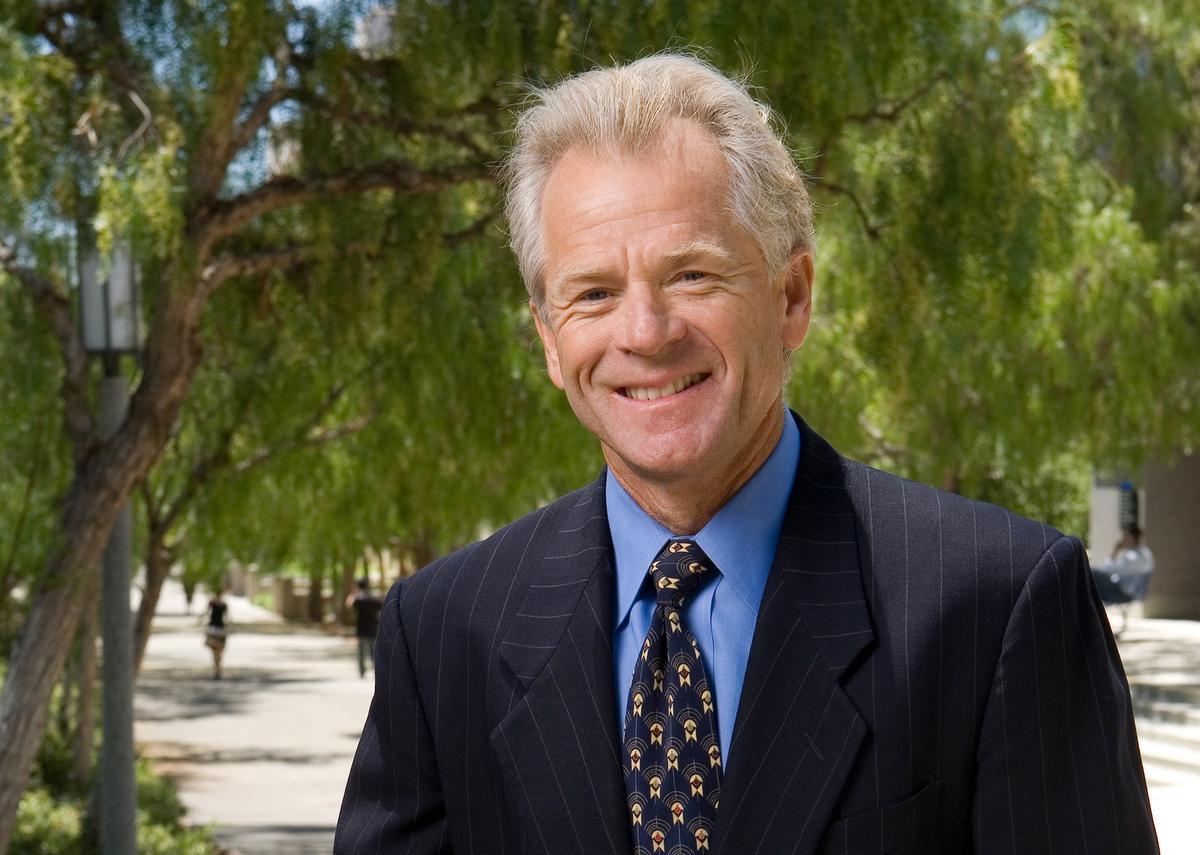 Economist Peter Navarro. Photo: Courtesy of University of California-Irvine