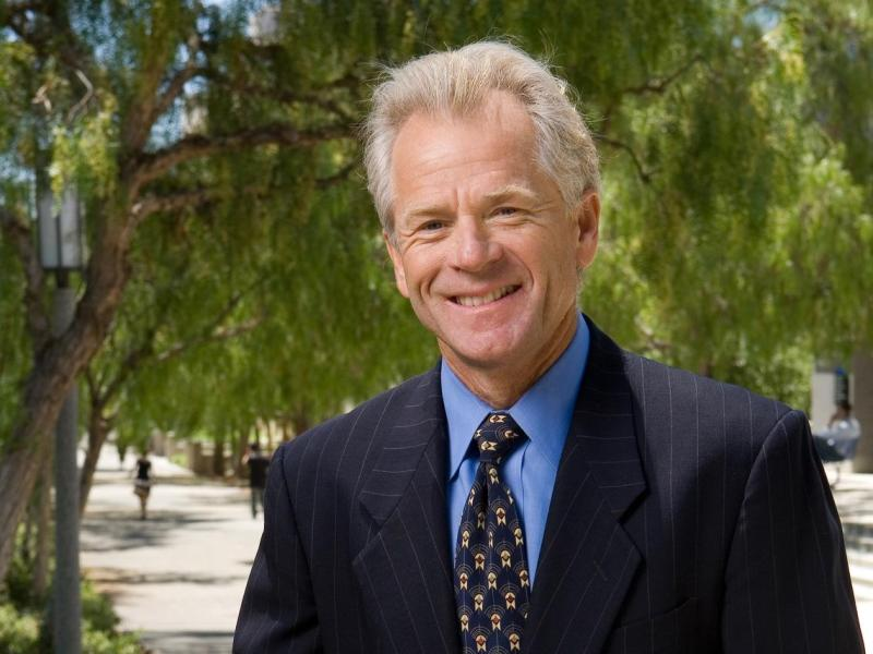 Economist Peter Navarro. Photo: Courtesy of University of California-Irvine