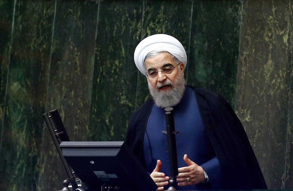 Iranian President Hassan Rouhani. Photo: AFP