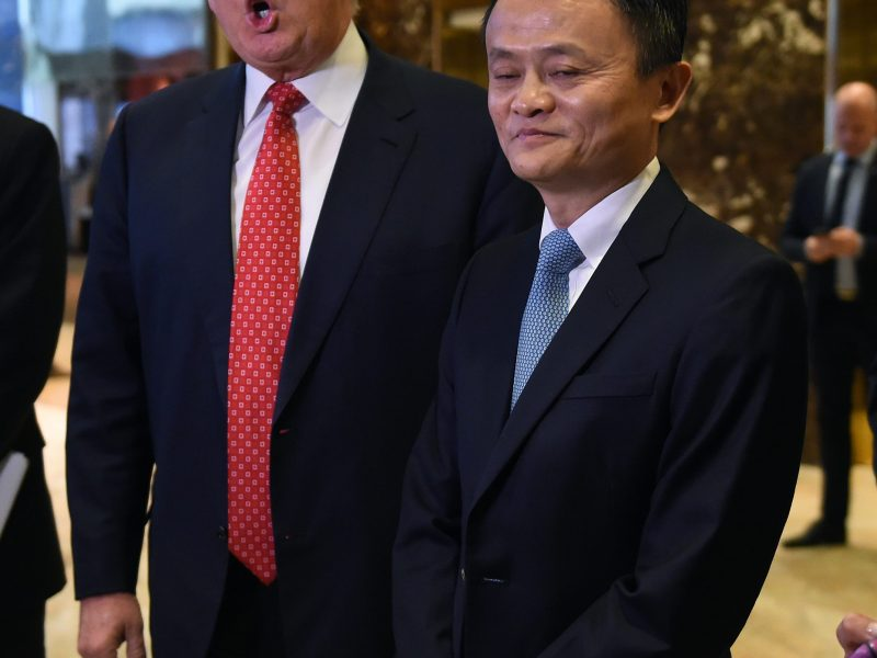 Alibaba Group's Jack Ma told Donald Trump he can create 1 million US jobs with plan to bring farmers, small businesses onto e-commerce platform. Photo: AFP
