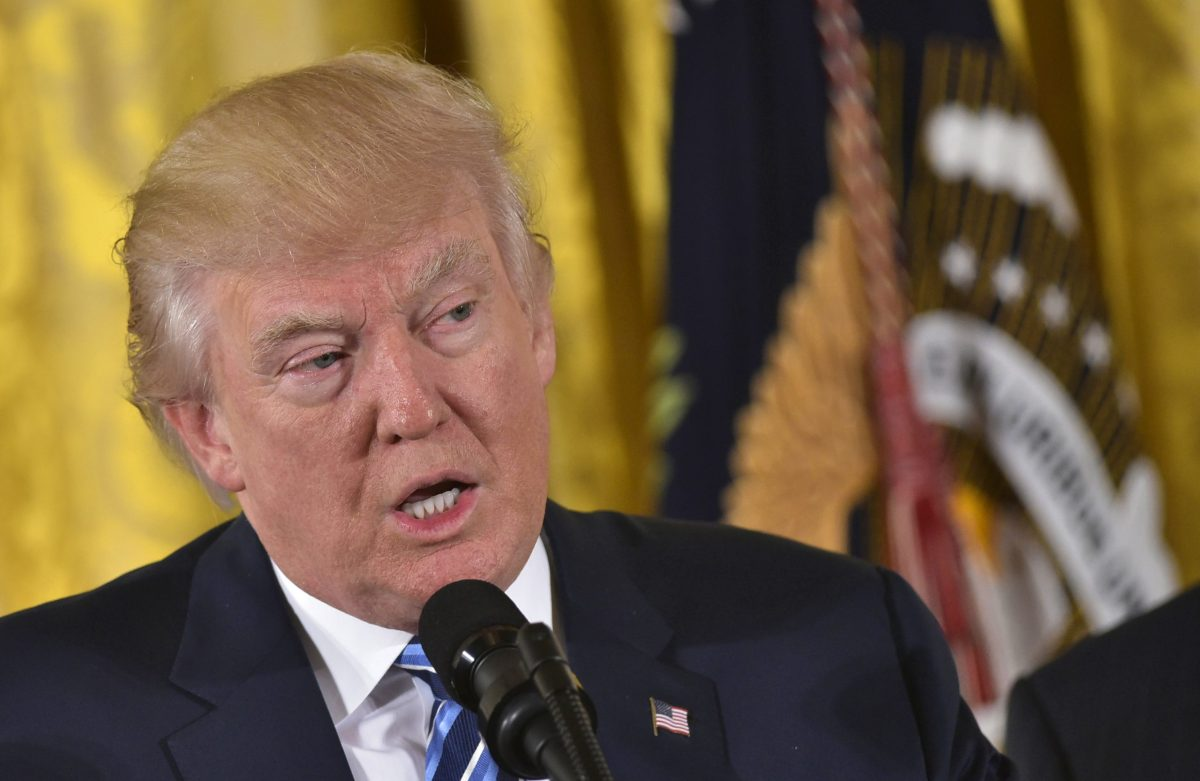 Could the policies of US President Donald Trump (unwittingly) spark an emerging market debt crisis? AFP photo/ Mandel Ngan