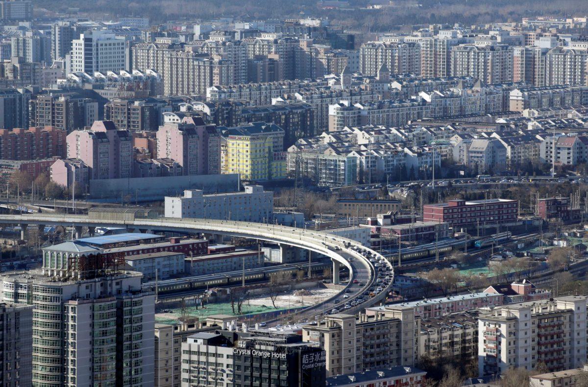 Residential buildings are seen in Beijing. Photo: Reuters/Jason Lee