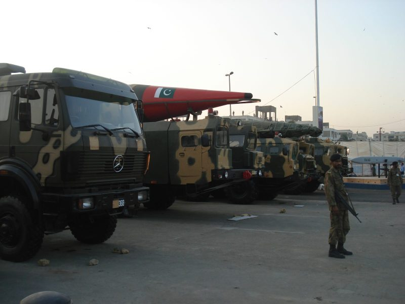 Pakistan's intermediate-range ballistic missiles; meanwhile the national economy is in a dire state. Photo: Wikimedia Commons
