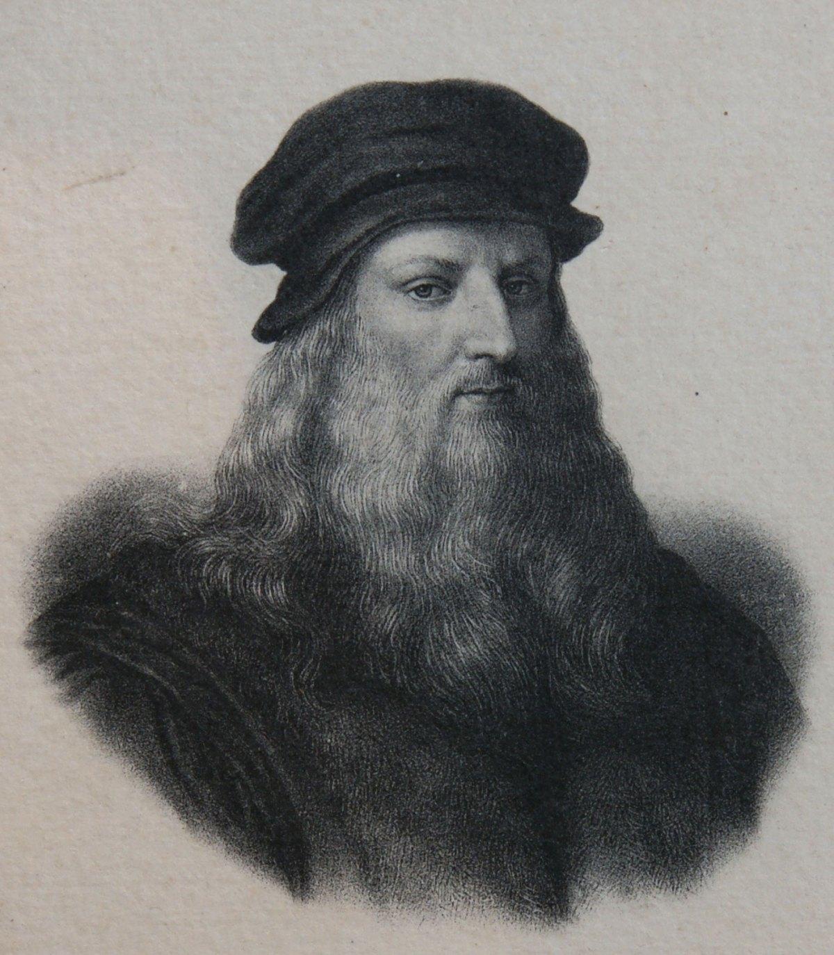 Leonardo da Vinci identified the mesentery as a single structure. Photo: Wikimedia Commons