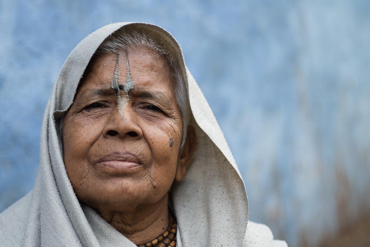 Portrait of a widow. Photo: Sascha Richter