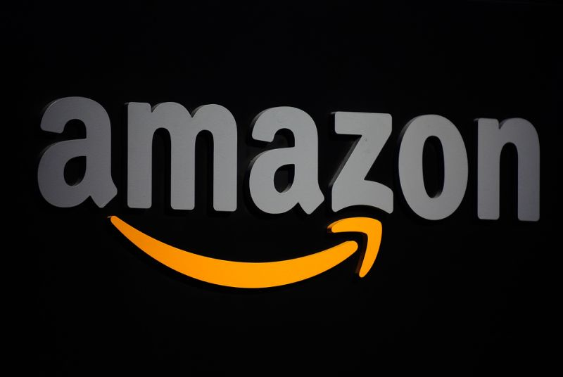 The Amazon logo. Photo: AFP/Emmanuel Dunand