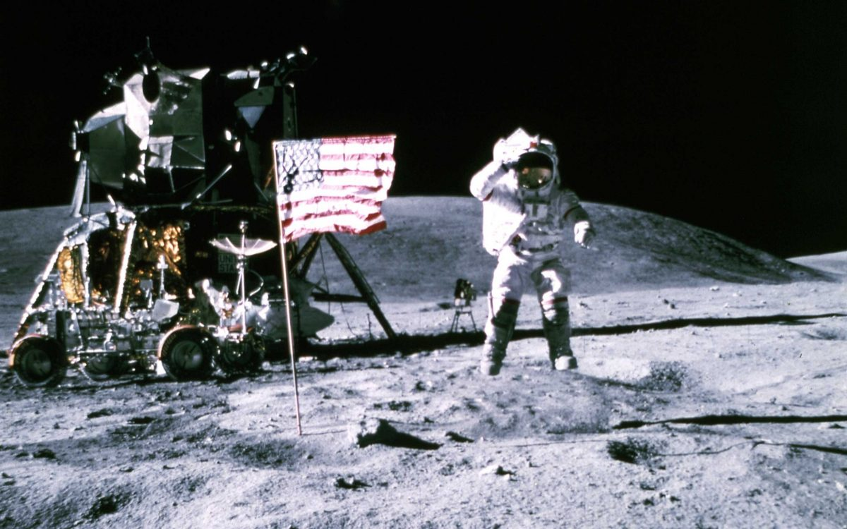 Would another space race generate enough R&D buzz to lift the US out of its productivity lull?