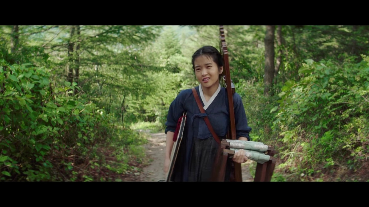 Kim Tae-Ri in The Handmaiden.