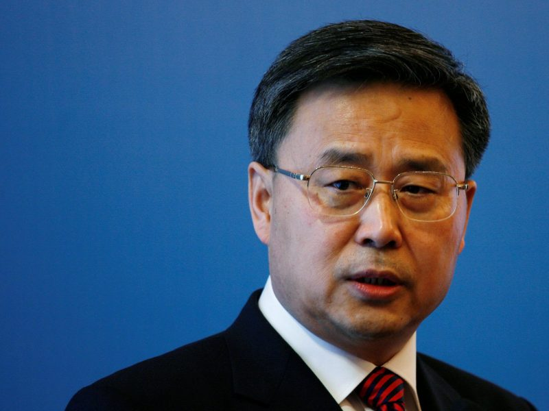 China Banking Regulatory Commission chief Guo Shuqing. Photo: Reuters/Bobby Yip