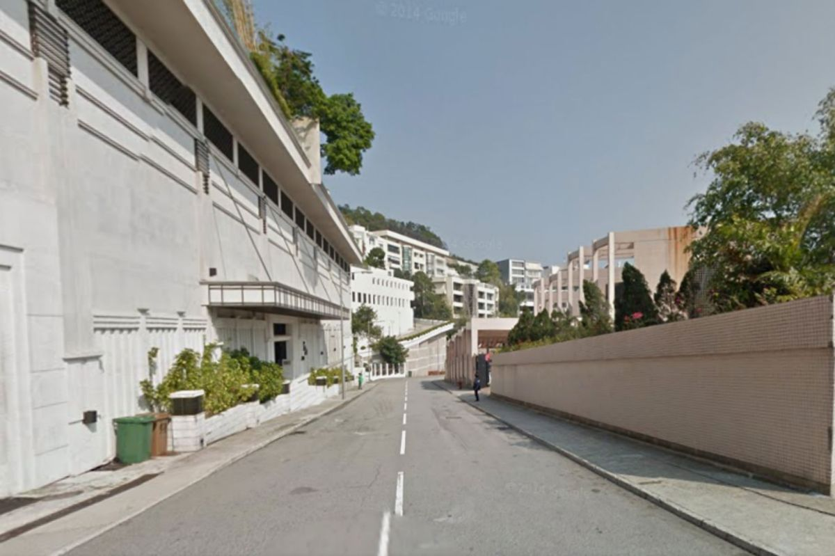 A view of Black's Link in Mid-Levels, Hong Kong Island. Photo: Google Maps