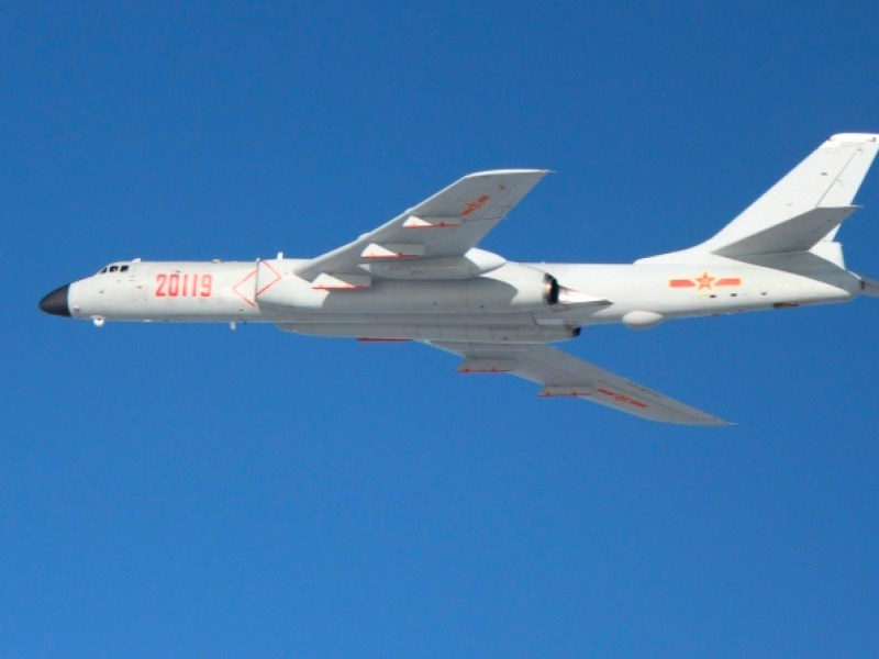 China's H-6 bomber. The PLA aims to replace its H-6 fleet with more advanced H-20 bombers. Photo: Wikimedia Commons
