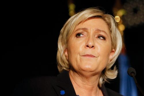 National Front's Marine Le Pen. Photo: Reuters, Robert Pratta