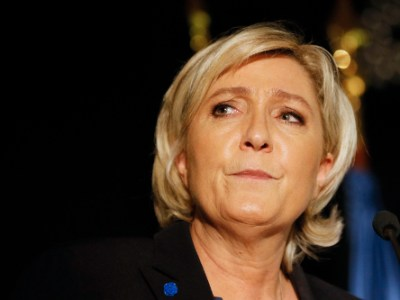 National Front's Marine Le Pen. Photo: Reuters, Robert Pratta