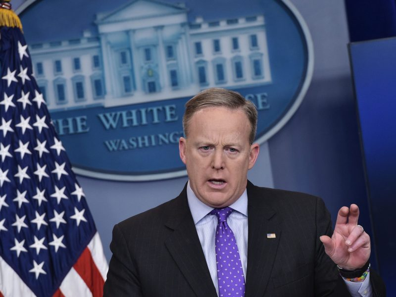 Is White House Press Secretary Sean Spicer next?. Photo/AFP