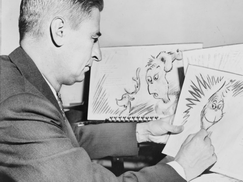 Theodor Seuss Geisel, Dr Seuss, did political cartoons before is children's books. Photo: Wikimedia Commons