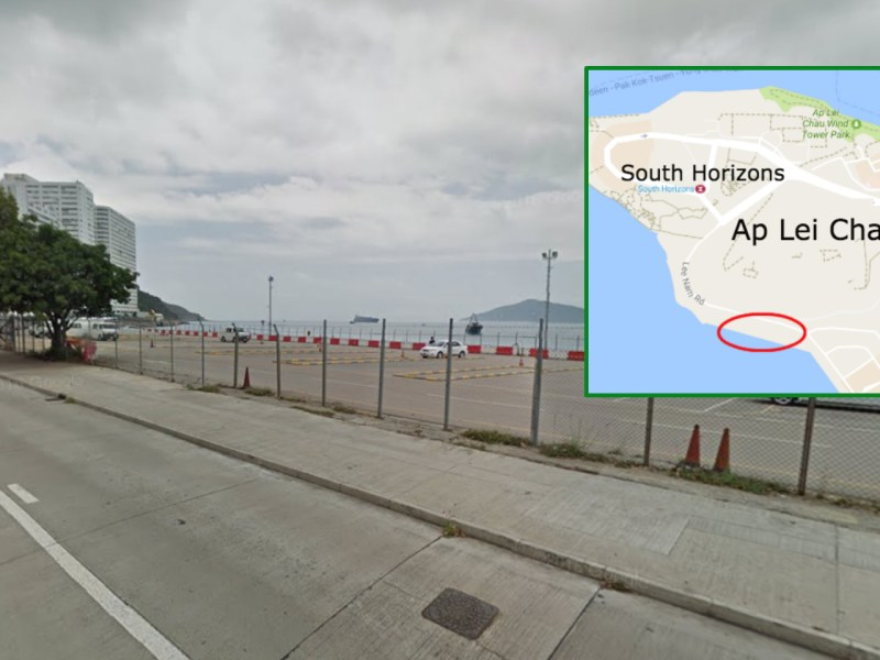 Logan Property and KWG Property purchased a site in Ap Lei Chau for an average of HK$22,118. Photo: Google Map