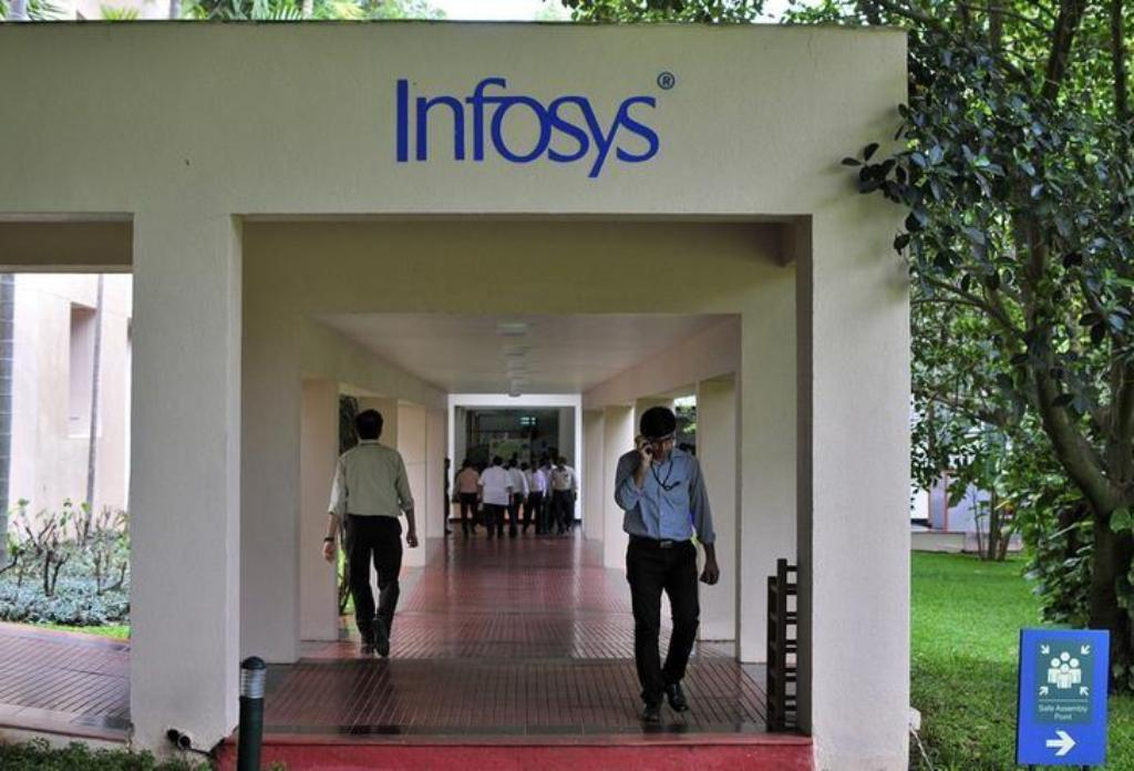 The Infosys campus in Bangalore. Photo: Reuters