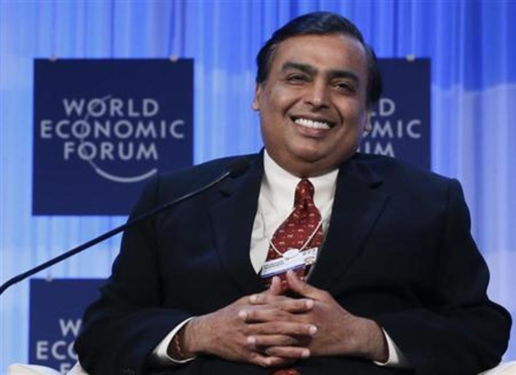 Reliance Industries chairman Mukesh Ambani. Photo: Reuters