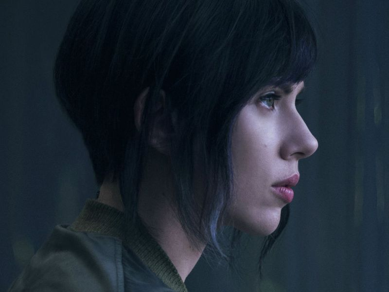 Scarlett Johansson as the titular character in the film Ghost in the Shell. Photo: Paramount Pictures /  Dreamworks