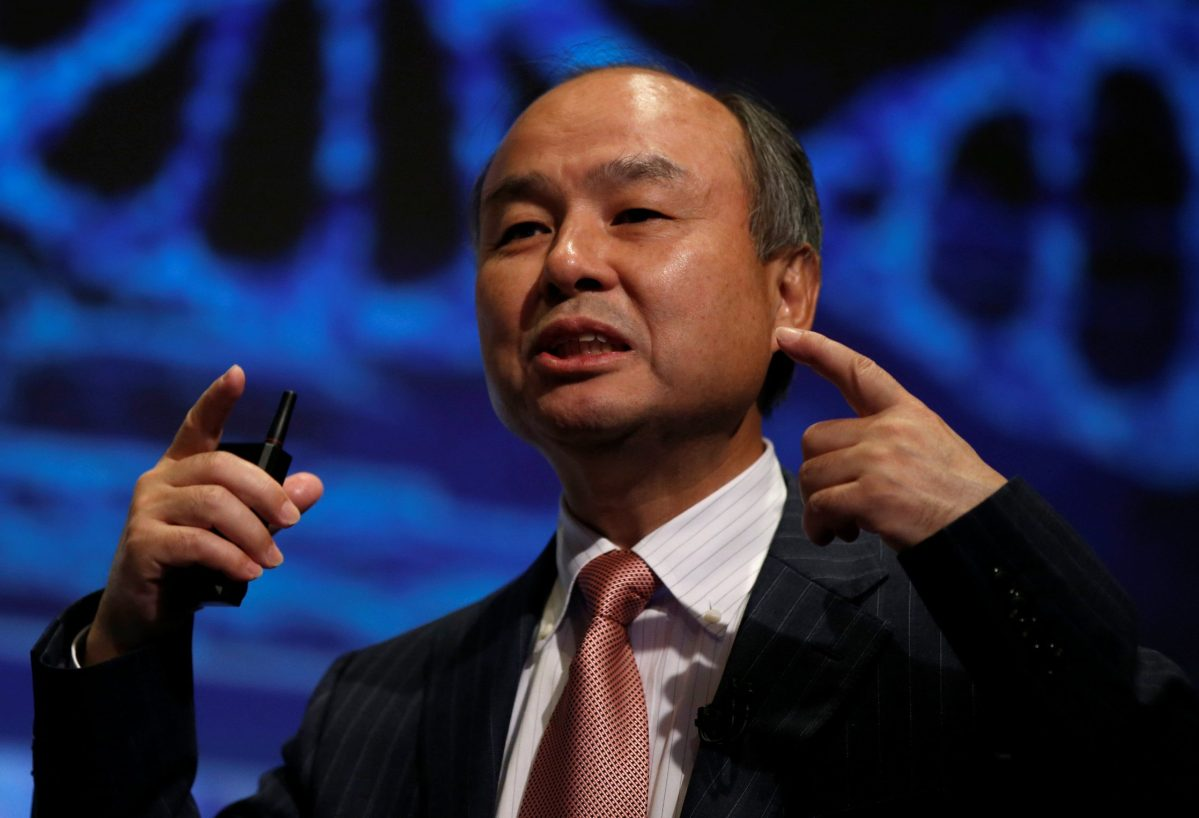 SoftBank Group Corp Chairman and CEO Masayoshi Son. Photo: Reuters, Toru Hanai