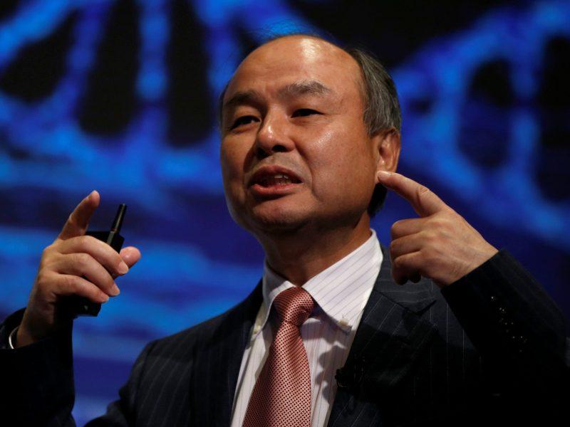 SoftBank Group Corp Chairman and CEO Masayoshi Son. Photo: Reuters, Toru Hanai