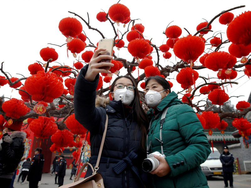 Smokin': One drawback of the revival in China's economic growth is the pollution. Photo: Reuters