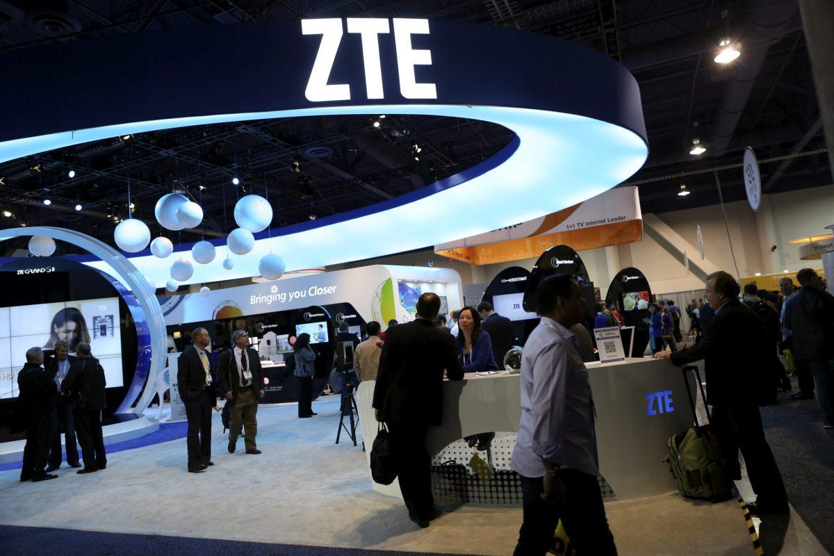 ZTE saw its share price plummet in Hong Kong and Shenzhen. Photo: Reuters / Robert Galbraith