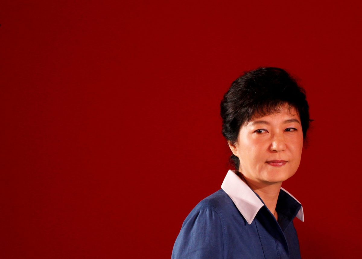Park's prison regime will mean  rising at about 6:30 a.m. and going to bed at around 9 p.m, and being allowed to watch television during the day but only a single channel with pre-recorded programmes authorised by the Justice Ministry. File photo: Reuters