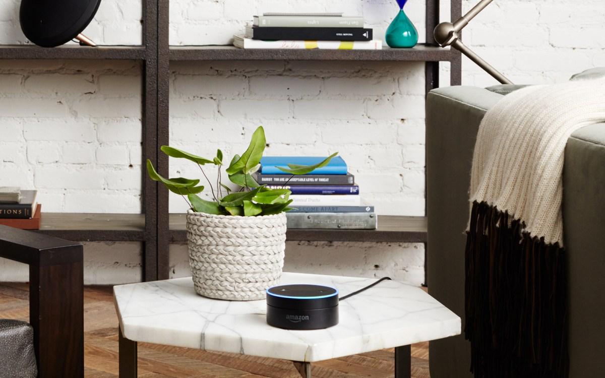 Amazon's Echo Dot bluetooth speakers are always listening. Photo: Amazon