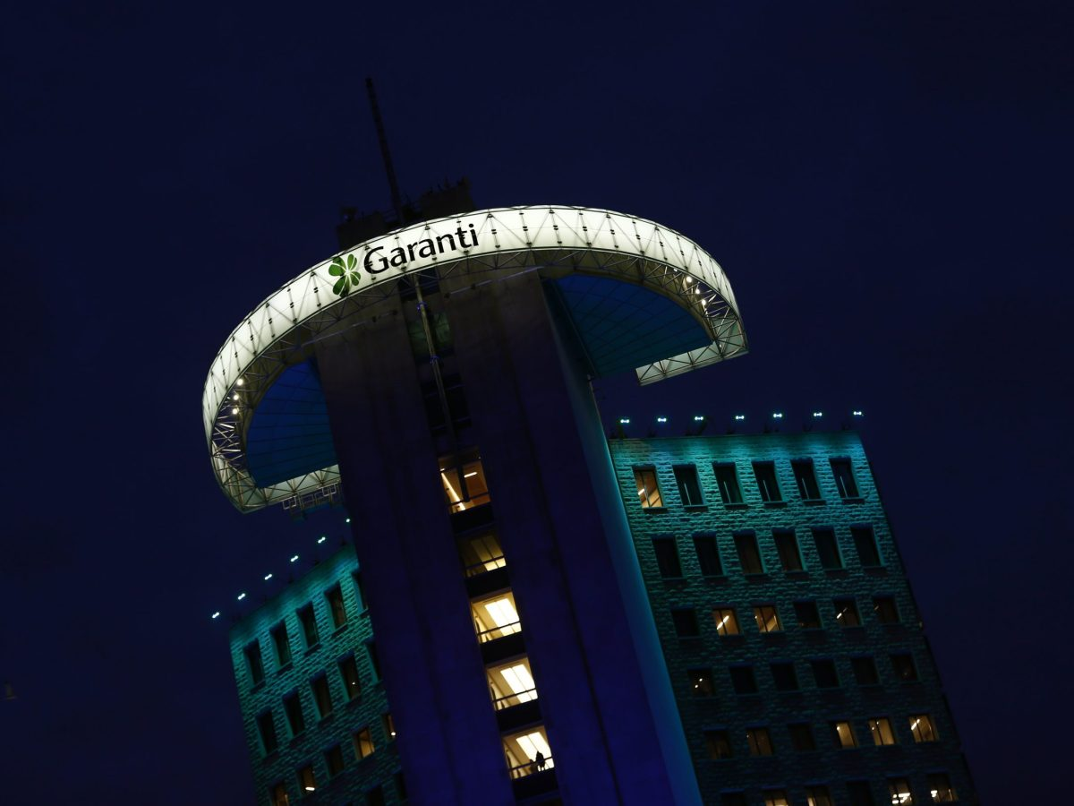 Garanti Bank headquarters is pictured in Istanbul, Turkey. Photo: Reuters