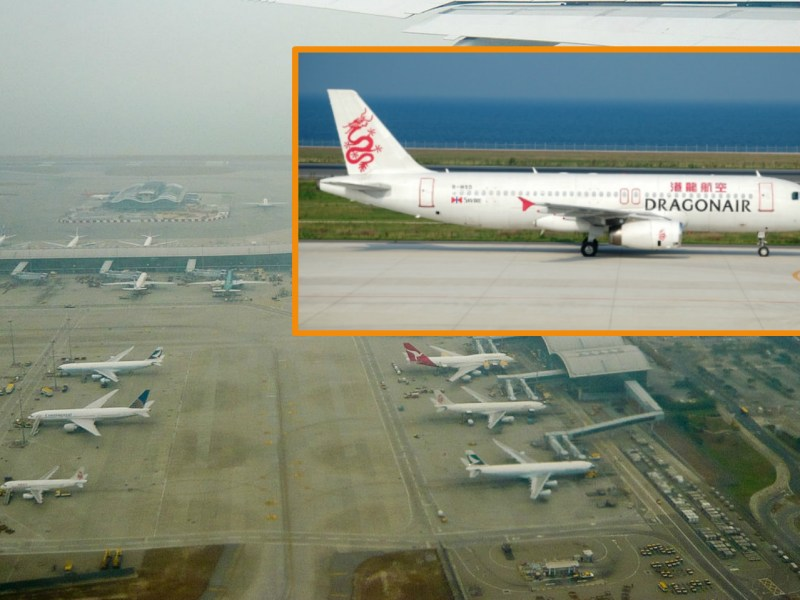 Smoke was seen coming from an aircraft at Hong Kong International Airport. Photo: Wikimedia Commons