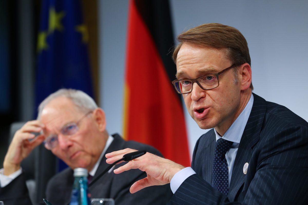 German Bundesbank President Jens Weidmann. Photo: Reuters/Kai Pfaffenbach