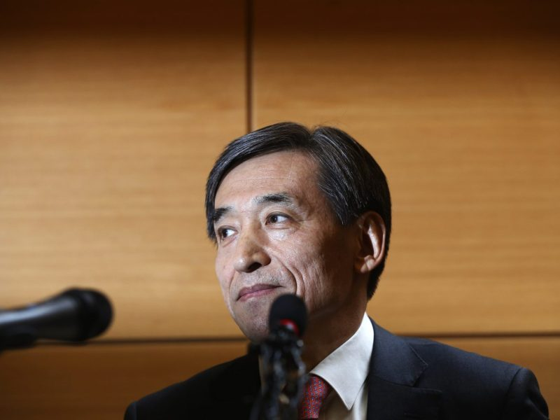 Lee Ju-yeol, governor of the South Korean central bank. Photo: Reuters / Kim Hong-Ji
