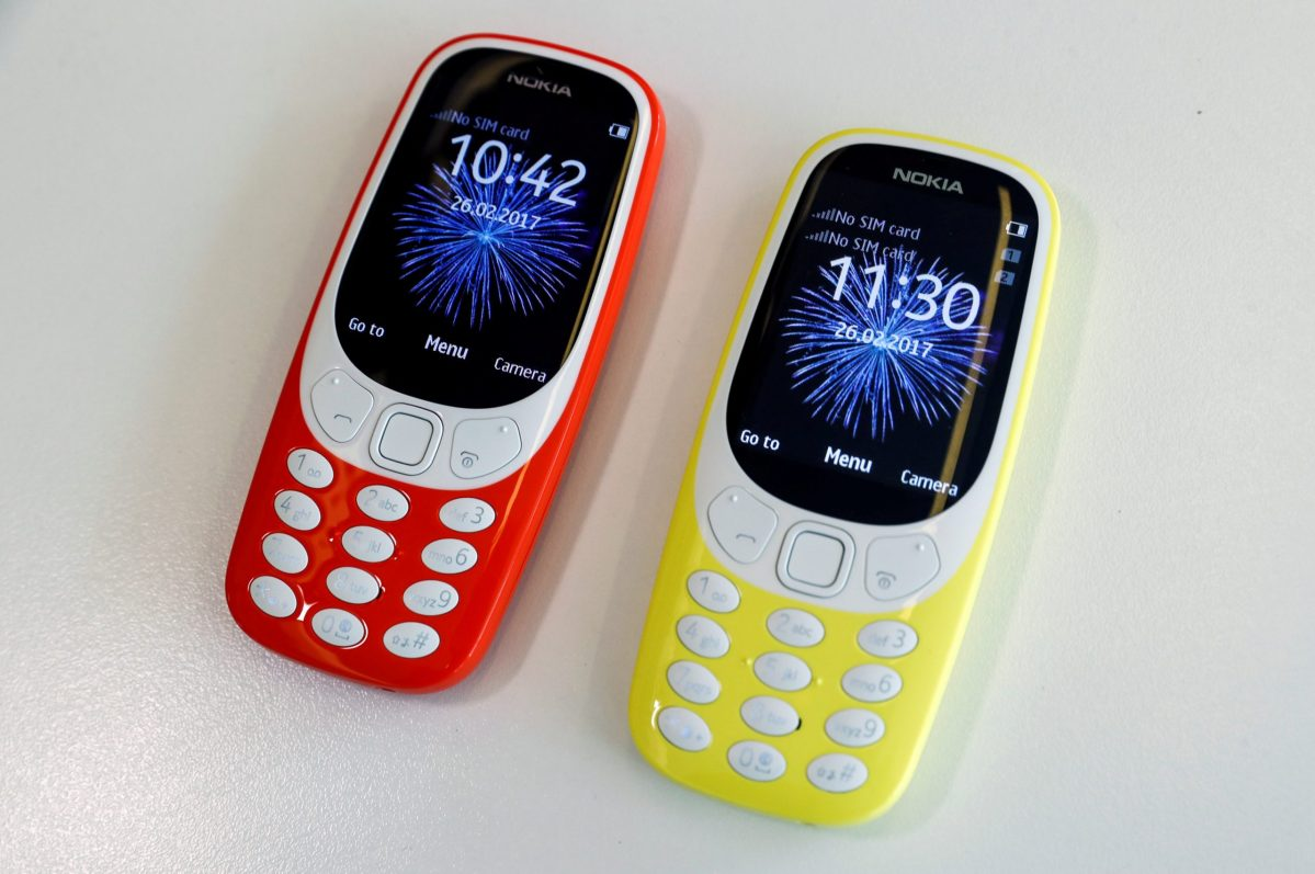 Priced at around US$50, the relaunched Nokia 3310 is meant to appeal to old fans in the West as well as finding a new generation of younger users in emerging markets who, it is hoped, are looking for a retro but reliable phone. Photo: REUTERS