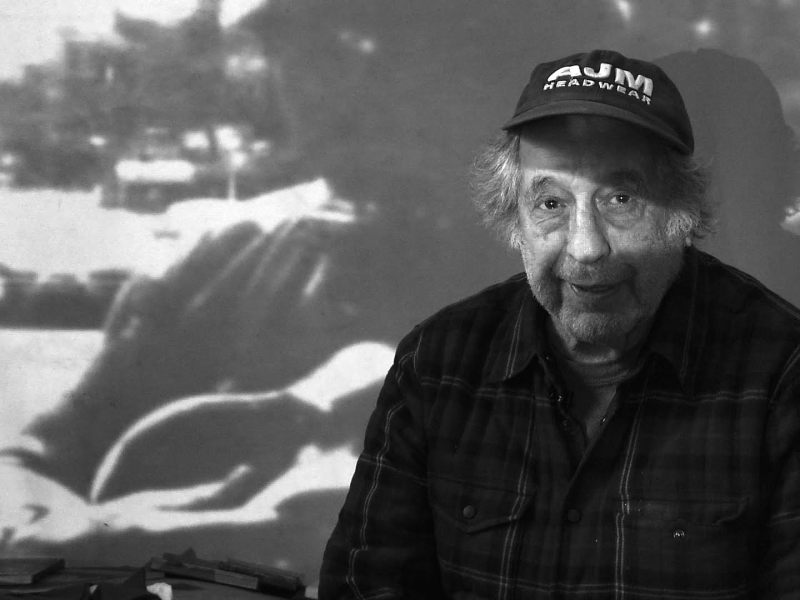 Robert Frank has been chronicling American life since the 1940s. Photo: Lisa Rinzler/Assemblage Films LLC