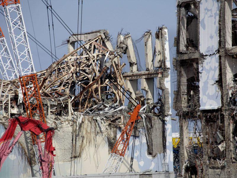 Tsunami-crippled Tokyo Electric Power's Fukushima Daiichi nuclear power plant in February 28, 2012. Reuters/Kimimasa Mayama