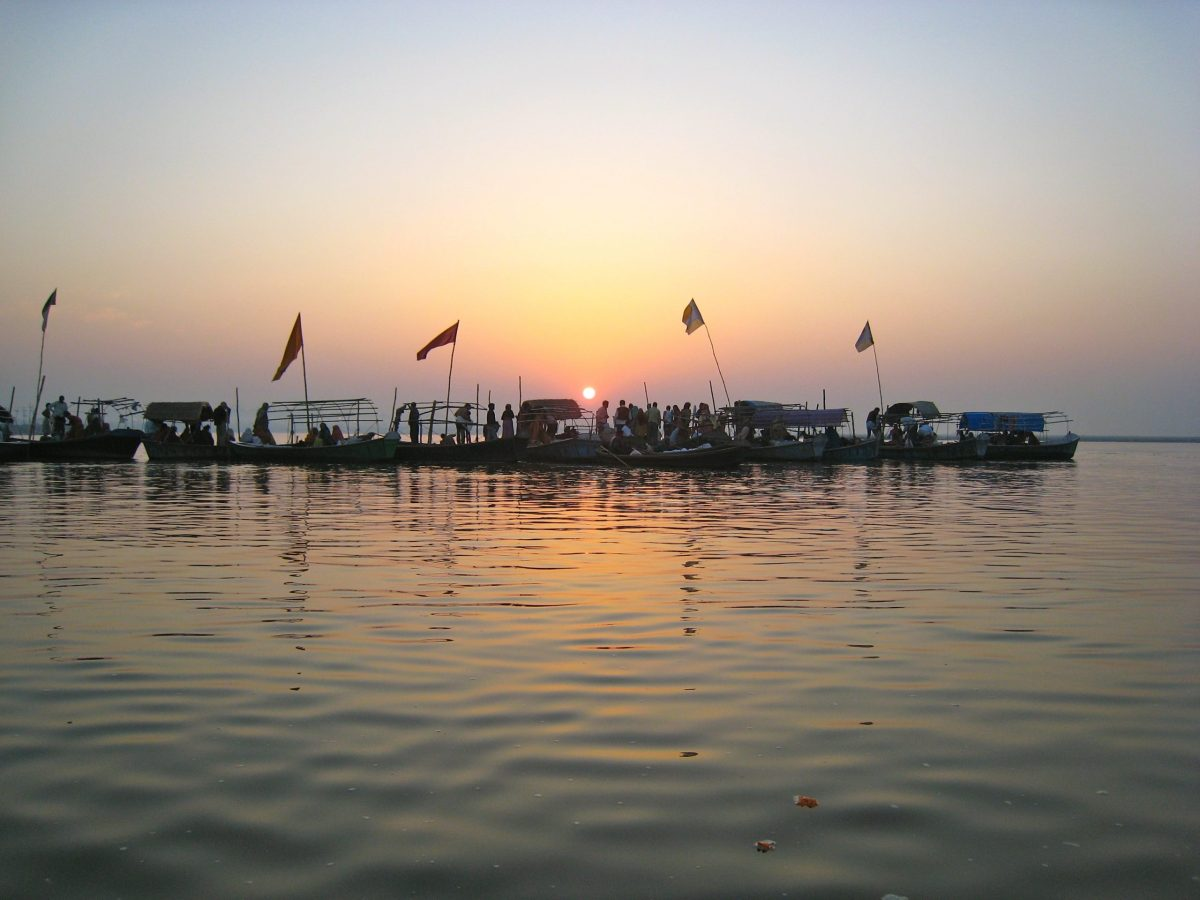 The Ganga River in Allahabad, India is now recognized as a legal person. Photo: Wikimedia Commons