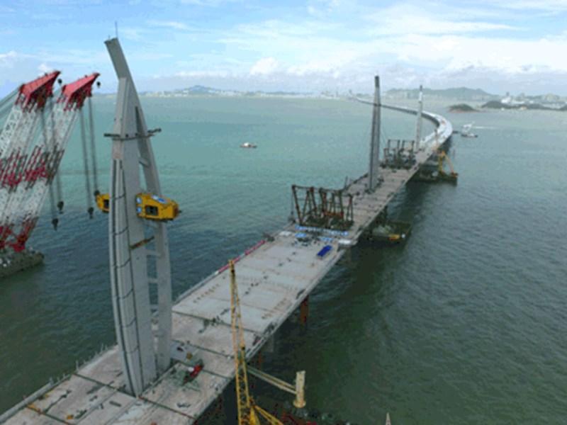 The Hong Kong-Zhuhai-Macao Bridge (HZMB) Photo: hzmb.hk
