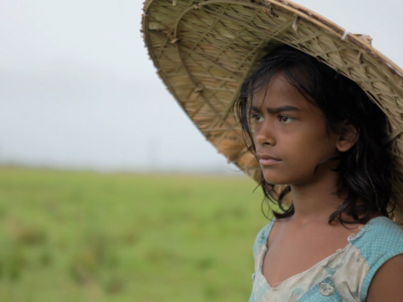 Dhunu, the lead character in the movie Village Rockstars directed by Rima Das. Photo: Rima Das
