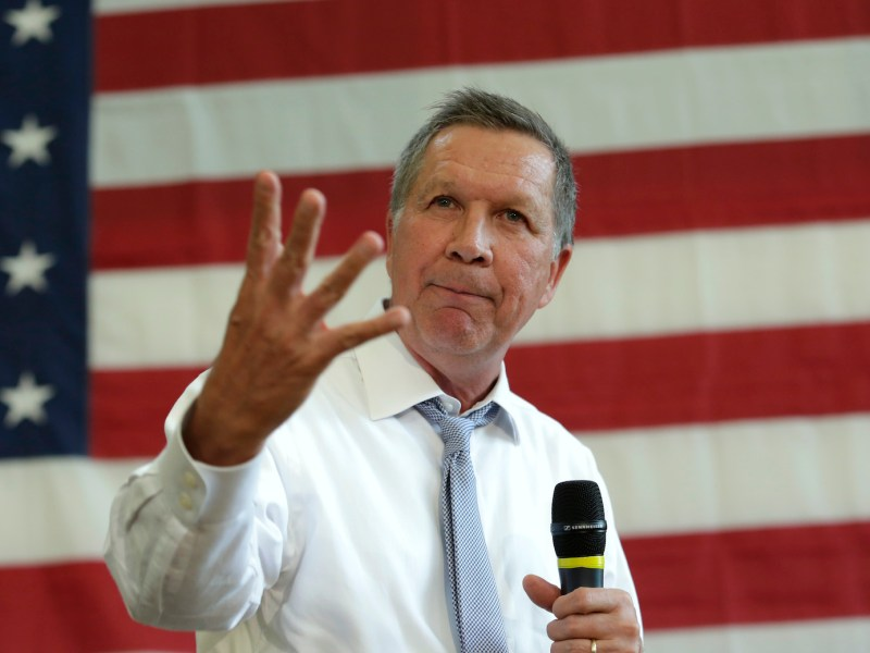 The best of the Republican presidential candidates in 2016, Ohio governor John Kasich, never had a realistic chance of becoming the nominee. Photo: AFP/YuriI Gripas